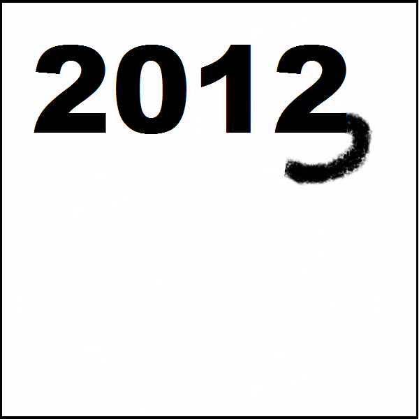 It's 2013! / New year, new chances to make / good and bad choices. Haikumages