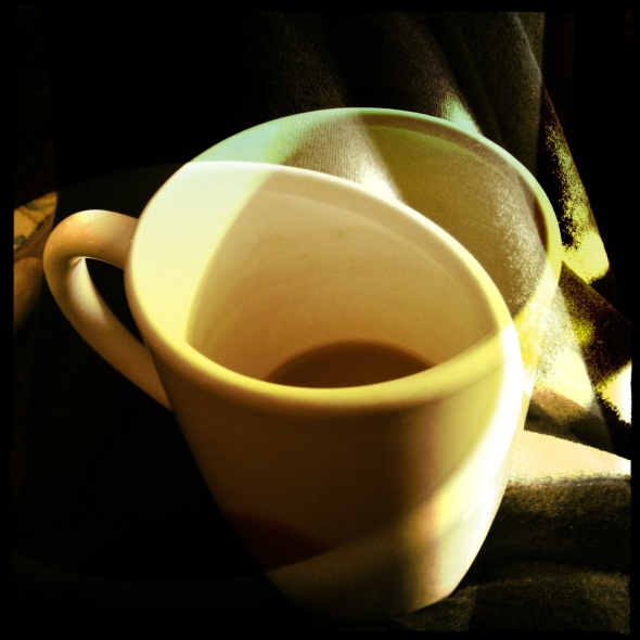 Drink them down / anti-heartburn pills / with coffee. Haikumages