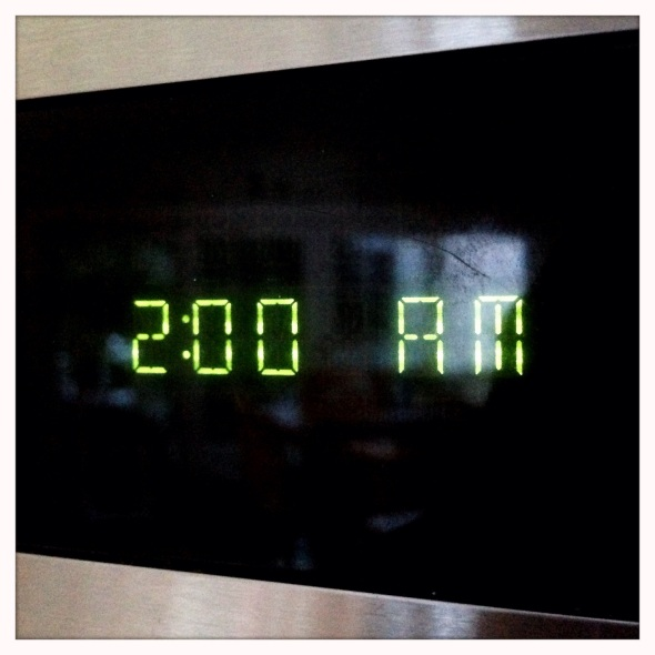I woke for two hours / just as time fell back so it / only took one hour. / Haikumages