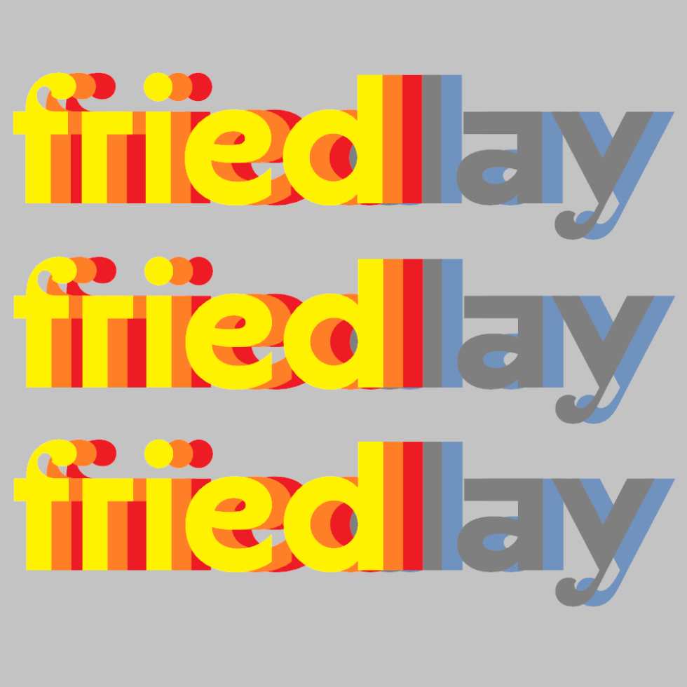 It's fried day / end of the work week / for many. | Haikumages