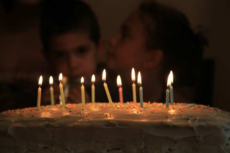 A happy birthday / is celebration of life / not just elapsed time.   haikumages