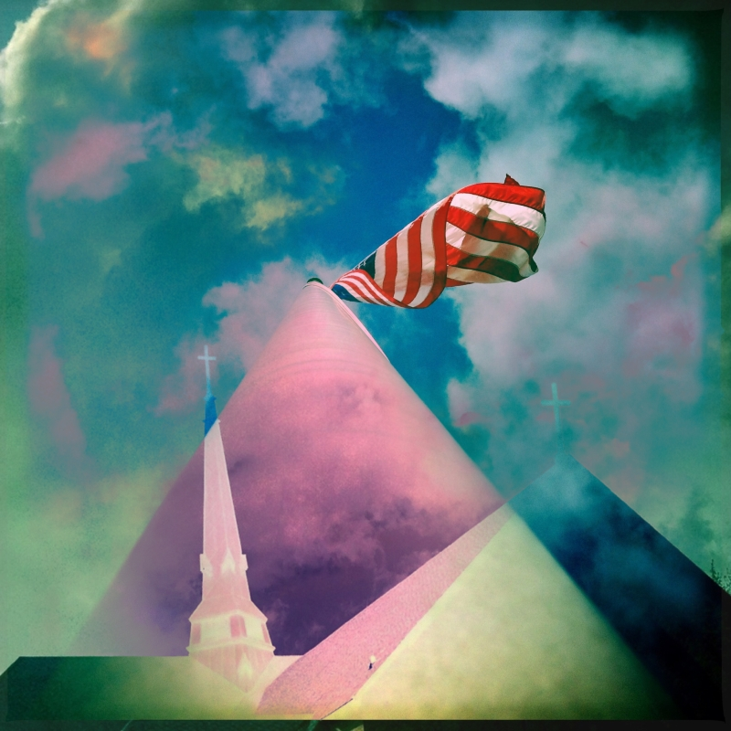 Independence lost / freedom failed, with church and state / unseparated.   haikumages