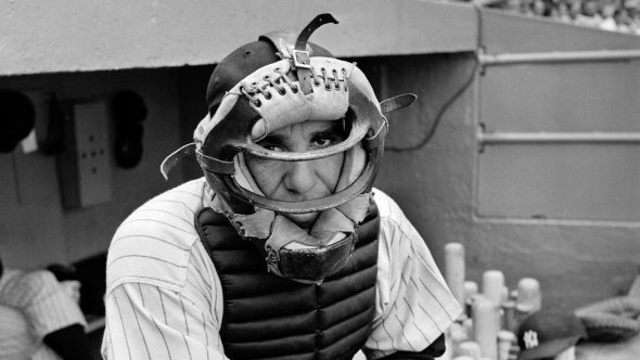 Though it ain't over / till it's over, apparently / it's over today. // RIP Yogi Berra // haiku - haikumages - micropoetry