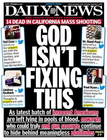 God Isn't Fixing This - NY Daily News
