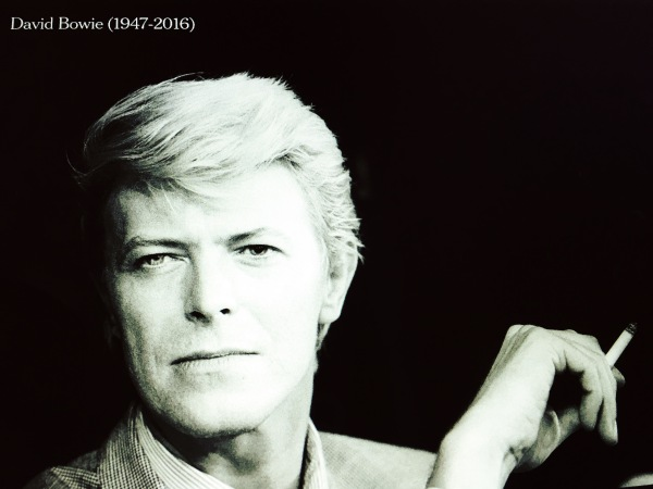 RIP-David-Bowie // Awoke to sad news / the first day in many years / bereft of Stardust. // micropoetry - haiku - haikumages